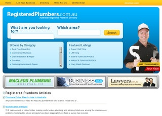 registeredplumbers.com.au