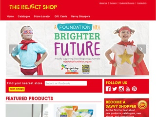 therejectshop.com.au